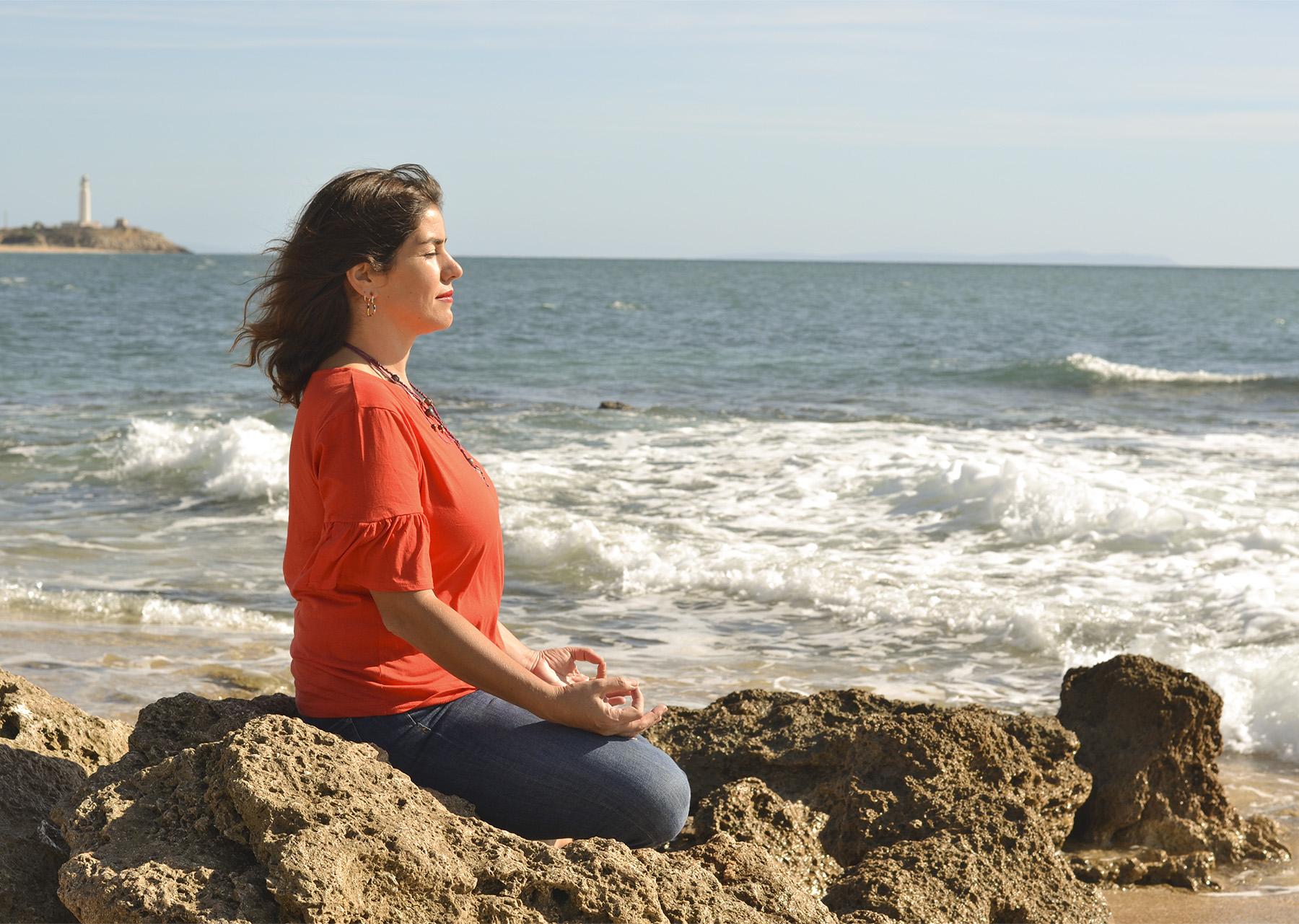 Pili meditando